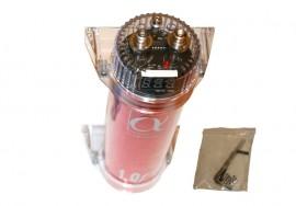 1F kondensaattori (punainen)