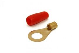 Rengasliitin 6mm² kaapelille (pun)