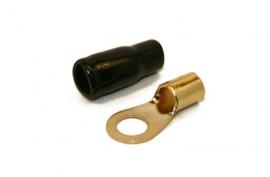 Rengasliitin 16mm² kaapelille (musta)